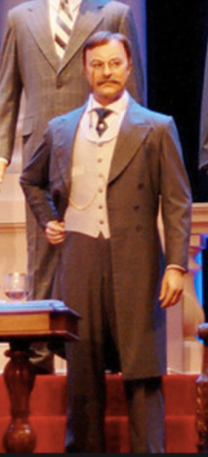 Teddy Roosevelt from the Hall of Presidents