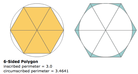 6 sided polygon